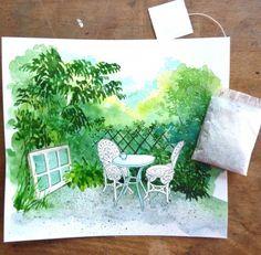 Secret garden l Vivian Swift