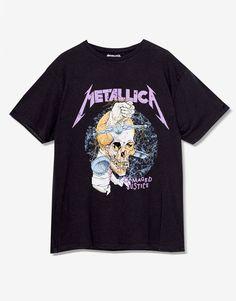 Metallica T-shirt - Clothing - New - Woman - PULL&BEAR Israel