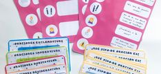 Tipos de Oraciones Homeschool, Printables, Reading Comprehension, Read And Write, Learning Stations, Sentence Types, Printable Templates, Homeschooling