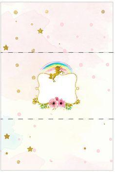 Fiesta de Unicornios: Etiquetas para Candy Bar para Imprimir Gratis. Ballerina Birthday, Unicorn Birthday Parties, 3rd Birthday, Unicorn Printables, Party Printables, Candy Bar Labels, Dragon Party, Magical Unicorn, Little Pony