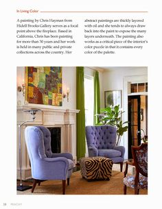 In Living Color with Peachy Magazine | The English Room