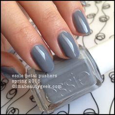 Essie Petal Pushers – Essie Spring 2015. For all the swatches, click on thru to www.imabeautygeek.com!