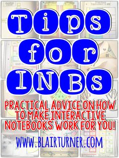 One Lesson at a Time: Tips for INBs: Making Interactive Notebooks Work F. Interactive Student Notebooks, Science Notebooks, Math Notebooks, Science Classroom, Science Education, Classroom Ideas, Classroom Tools, Autism Classroom, Spanish Classroom