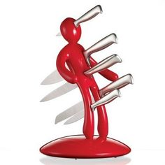 Cool Knife Block Design...although I hate knives!