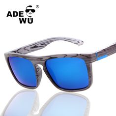 d5cdfcd57f3 ADE WU Sport Sunglasses Men Famous Brand Designer Polarized Wood Sunglasses  Male For Driving Driver Sun Glasses masculino-in Sunglasses from Men s  Clothing ...