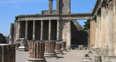 Pompeii's history reads like a Greek tragedy. Settlers originally flocked to the site of the Roman port city because of its fertile soil—the product of volcanic ash from nearby Mount Vesuvius. Yet that very same volcano would erupt and doom the city of 10,000 to 20,000 inhabitants in A.D. 79.
