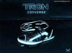 Converse Shoes / Tron #Marketing