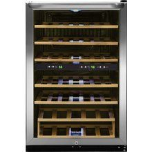 View the Frigidaire FFWC38F6L 38 Bottle Two-Zone Wine Cooler with Two Temperature Zones at Pro @ Build.com.