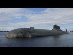 Das größte U Boot der Welt-Typhoon-Klasse Severstal