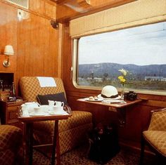 Blue Train (South Africa) - Cabin interior by Train Chartering & Private Rail Cars, via Flickr
