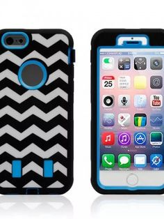 blue zigzag iphone 6 case