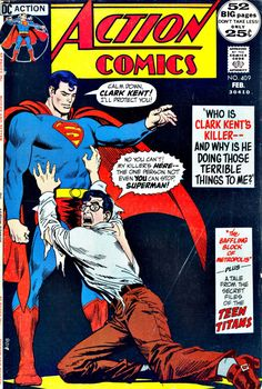 Action Comics #409, February 1972,  Pencils:Nick Cardy