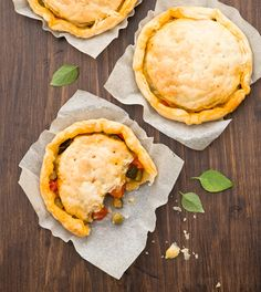 Tortini di sfoglia con verdure - quandopasta.it