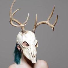 CLEAR On Order LG Deer skull mask