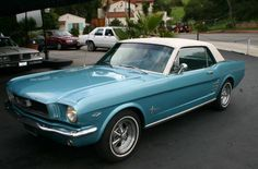 1966 Ford Mustang Coupe.