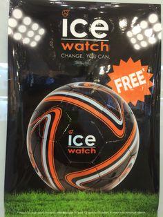 AKCJA PROMOCYJNA ICE- WATCH NA EURO 2016   Przy zakupie zegarka marki Ice Watch BMW Motorsport PIŁKA NOŻNA GRATIS !!!  *akcja trwa do wyczerpania zapasów