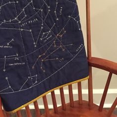 @laurie3.14 asked, in her IG feed, where the farthest one of our quilts lives. My @hapticlab #constellationquilt lives in Lanzhou China. #quiltgeography