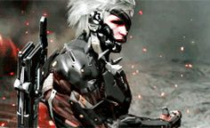 """""""If America's gone to shit, then you're just a maggot crawling in the pile! Raiden Metal Gear, Metal Gear Games, Metal Gear Solid Series, Metal Gear Rising, Diamond Dogs, The Best Is Yet To Come, Art File, Legend Of Korra, Monster Hunter"""