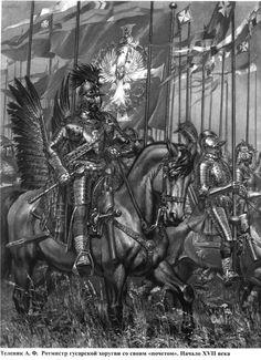 Hungarian-Polish- Lithuanian hussars 16-17 centuries