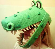 Маска крокодила -дракона