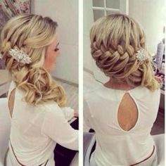 hair styles Pinterest Boda