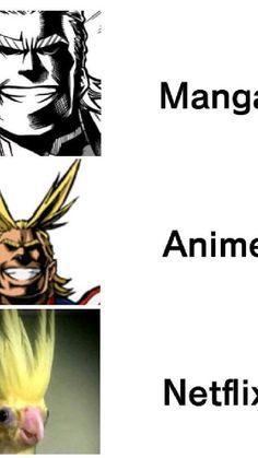Boku No Hero Academia Funny, My Hero Academia Episodes, My Hero Academia Memes, My Hero Academia Manga, Anime Funny Moments, Funny Anime Pics, Cute Anime Guys, Manga Vs Anime, Anime Mems