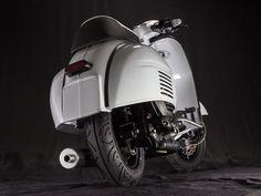 <h1><span style='font-size: large;'>CUSTOM VESPA GL 221 CLASSIC RACER</span></h1> <p>Komplett-Projekt aus unser <strong>Vespa Werkstatt</strong> mit PX 200 Newline Motor und Superlow-Fahrwerk.</p>