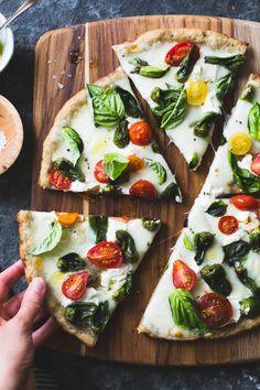 """intensefoodcravings:  """"Padrón Pepper Margherita Pizza   The Bojon Gourmet  """""""