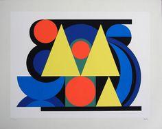 """""""Alphabet"""" Silkscreen - Auguste Herbin"""