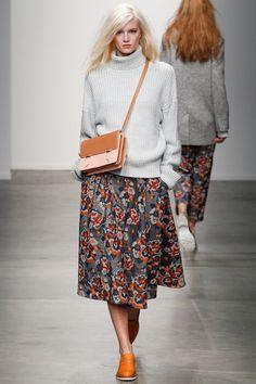 Юбка с цветочным принтом Karen Walker
