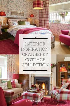 Learn everything you need to know about our cranberry cottage collection. Laura Ashley Kitchen, Nest Building, Kitchen Living, Living Rooms, Transitional Decor, Kitchen Collection, Little Houses, Interior Inspiration, Home Accessories