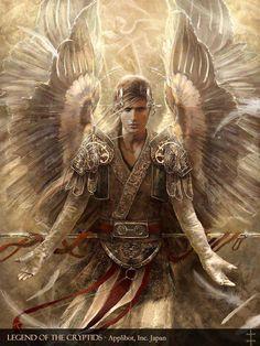 #Spiritual Art and #Archetypes- Arch Angel Raphael. by EVentrue