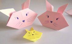 Lavoretti per bambini video come fare coniglietti e gattini origami-001
