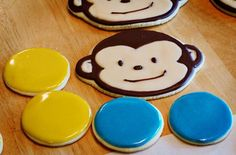 Monkey sugar cookies!