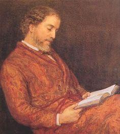 William Allingham (19 maart 1824 – 18 november 1889) - Portret door Helen Allingham (Paterson), 1876