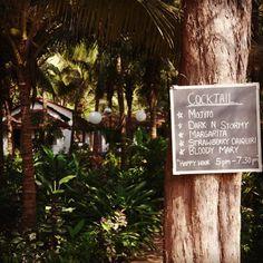 Happy hour at thatched igloo paradise Yab Yum #Goa