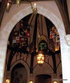 Inside the Castle in Disney World!