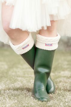 wedding wellies // photo by Glass Jar Photography