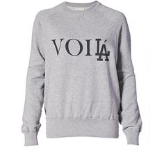 Song of Style for eLUXE VoiLA Crew Neck Sweatshirt in Grey Mix found on Polyvore featuring tops, hoodies, sweatshirts, sweaters, shirts, grey mix, gray crewneck sweatshirt, sweatshirts hoodies, pullover sweatshirts and cotton shirts