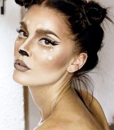 Fantasias que você pode fazer com maquiagem