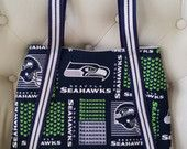 Seahawks shoulder handbag