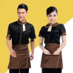 ea2fd9161 Cheap food service, Buy Quality waiter uniform directly from China food  wear Suppliers: New Restaurant Female Waiter Uniform Women Coffee Shop  Waitress ...