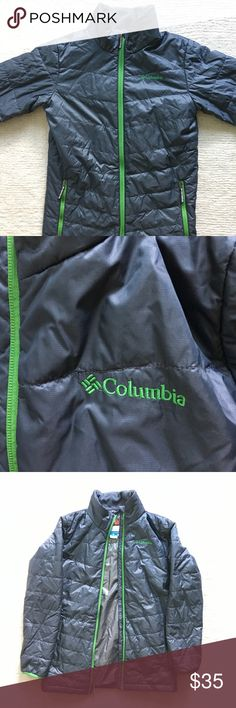 Columbia Jacket Size L 14-16 Columbia brand Omni-heat insulation for cold weather jacket, girls size large is (14-16) in excellent condition! Columbia Jackets & Coats Puffers
