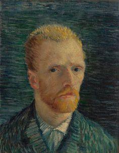 Self-Portrait, Vincent van Gogh (1887)