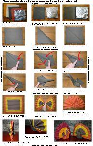 84 meilleures images du tableau pliage de serviettes. Black Bedroom Furniture Sets. Home Design Ideas