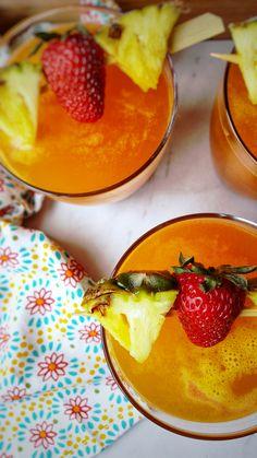 "Pineapple Rum Cocktail ""Bliss"""