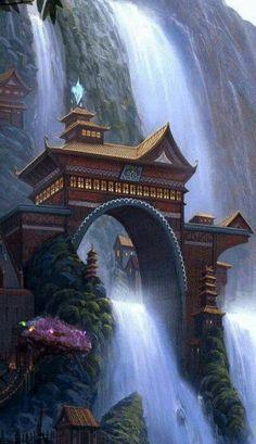 *-*Shifen Waterfall , Taiwan Más