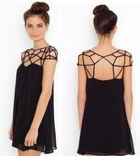 Condition : 100% New    Material : Chiffon Color :Black (Refer To The Picture) Size : S/M/L (Refer T
