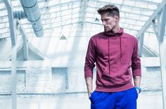 Combine different colors to create your own style. #outhorn#defineyoursport#men#collection#autumn#winter#2016#AW#colors#outfit#sportswear#active#lifestyle#blue#burgundy