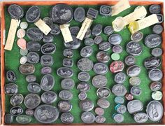 Glass Seals lot